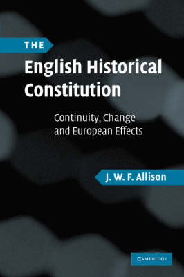 English Historical Constitution book
