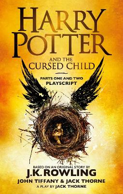 Harry Potter and the Cursed Child - Parts One and Two book