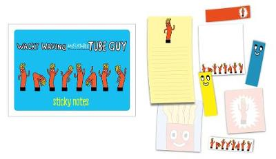 Wacky Waving Inflatable Tube Guy Sticky Notes: 488 Notes to Stick and Share by Gemma Correll