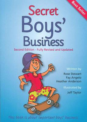 Secret Boys' Business book