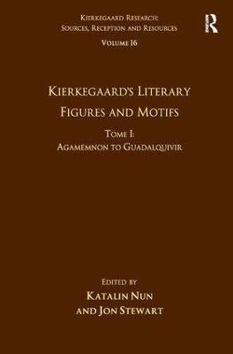 Kierkegaard's Literary Figures and Motifs book