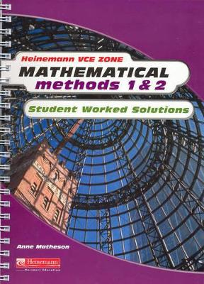 Mathematical Methods 1 and 2 by Kylie Boucher