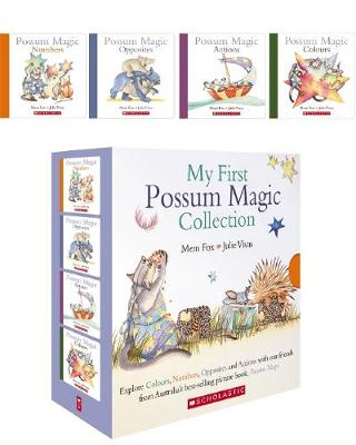 Possum Magic 4 Board Book Boxed Set by Fox,Mem