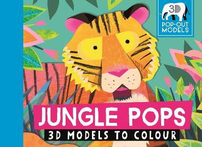 Jungle Pops: 3D Models to Colour by Natasha Durley