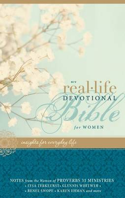 NIV, Real-Life Devotional Bible for Women, Imitation Leather, Pink by Lysa TerKeurst