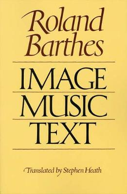 Image, Music, Text by Roland Barthes