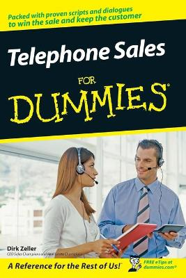 Telephone Sales For Dummies by Dirk Zeller