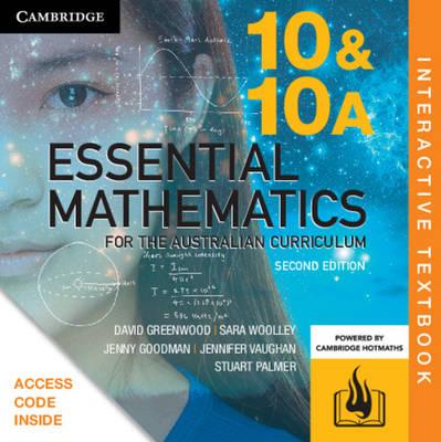 Essential Mathematics for the Australian Curriculum Year 10 Digital (Card) by David Greenwood