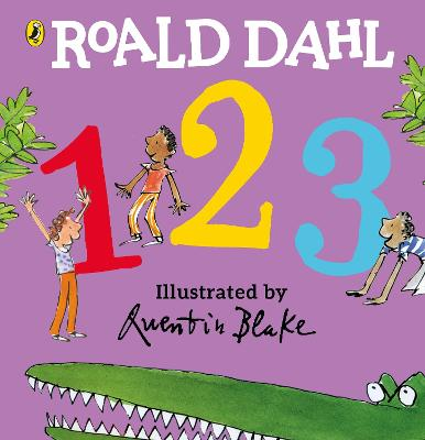 Roald Dahl's 123: (Counting Board Book) by Roald Dahl