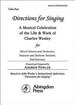 Directions for Singing - Tuba by Andrew J Fowler
