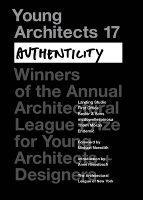 Young Architects  No. 17 by Architectural League of New York
