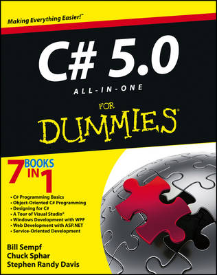 C# 5.0 All-in-One For Dummies book