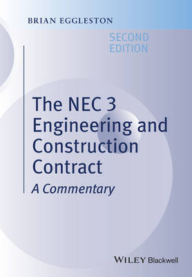 NEC 3 Engineering and Construction Contract book