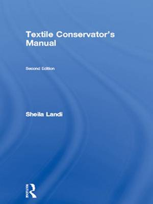 Textile Conservator's Manual book