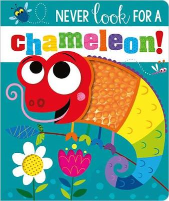 NEVER LOOK FOR A CHAMELEON! BB book