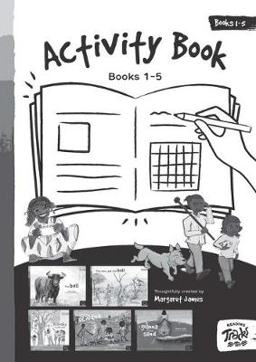 Reading Tracks Activity Book 1 to 5: Paired with Reading Track Books 1 to 5 by Margaret James