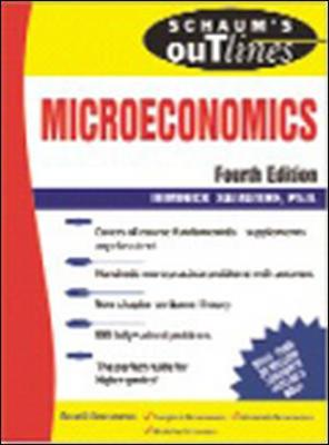 Schaum's Outline of Microeconomics by Dominick Salvatore