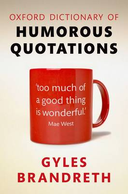Oxford Dictionary of Humorous Quotations book