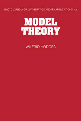 Model Theory by Wilfrid Hodges