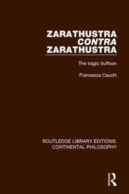 Zarathustra Contra Zarathustra book