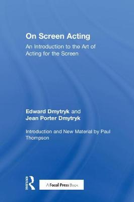 On Screen Acting book