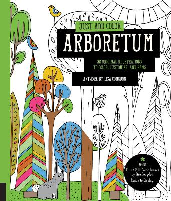 Just Add Color: Arboretum by Lisa Congdon