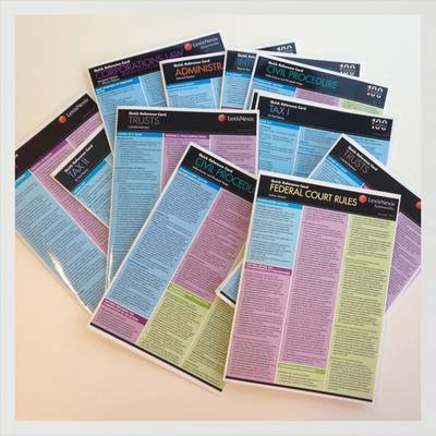Quick Reference Card: Employment Law by Sangkuhl