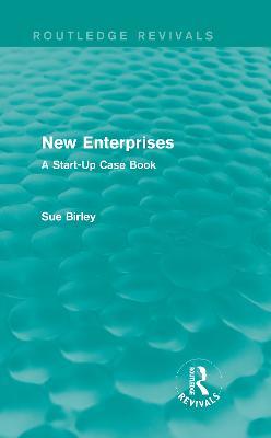 New Enterprises by Sue Birley