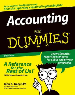 Accounting For Dummies by John A. Tracy