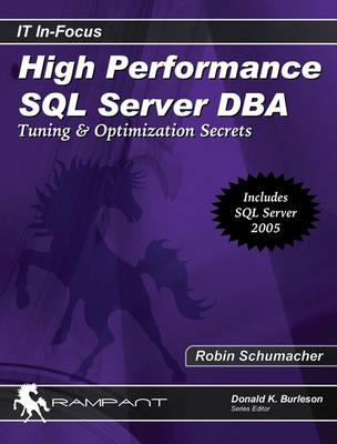 High Performance SQL Server DBA by Donald Keith Burleson