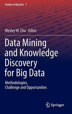 Data Mining and Knowledge Discovery for Big Data by Wesley W. Chu
