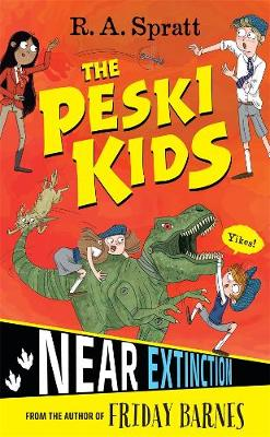 The Peski Kids 4: Near Extinction book