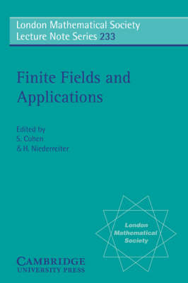 Finite Fields and Applications by S. Cohen