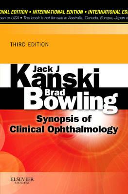 Synopsis of Clinical Ophthalmology International Edition by Jack J. Kanski
