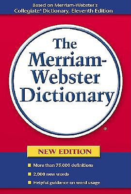 Merriam-Webster's Dictionary book