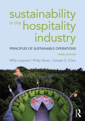 Sustainability in the Hospitality Industry book