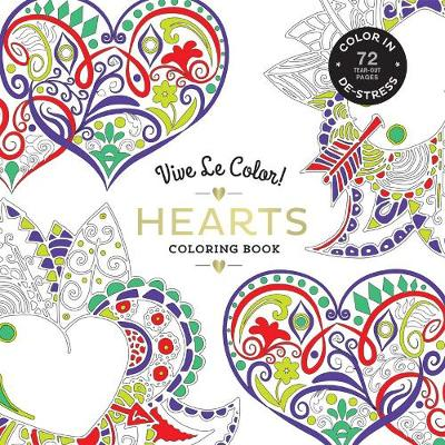 Hearts ( Coloring Book ) by Abrams Noterie