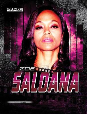 Zoe Saldana by Peter Delmar