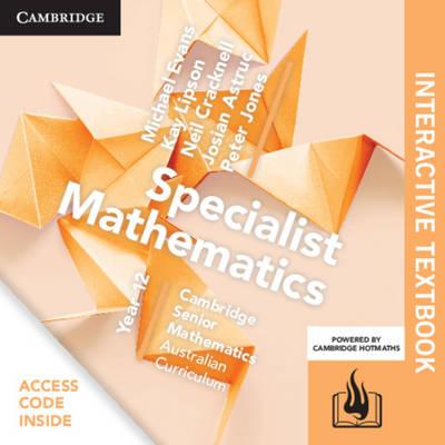 CSM AC Specialist Mathematics Year 12 Digital (Card) by Michael Evans