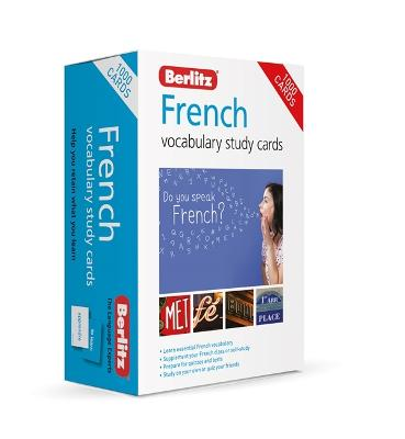 Berlitz French Study Cards (Language Flash Cards) by Berlitz Publishing Company