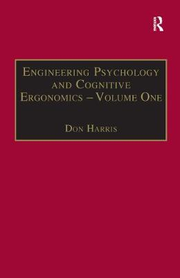 Engineering Psychology and Cognitive Ergonomics Transportation Systems Volume 1 by Professor Don Harris