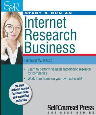 Start and Run an Information Research Business book
