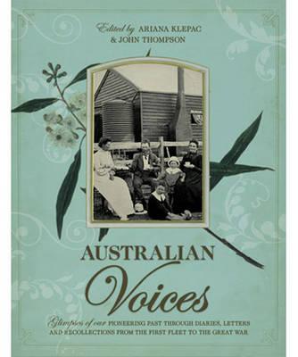 Australian Voices book