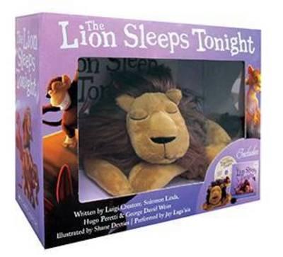 Lion Sleeps Tonight Book + Plush Boxed Set by Solomon Linda