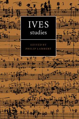 Ives Studies book