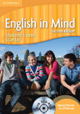 English in Mind Starter Level Student's Book with DVD-ROM by Herbert Puchta