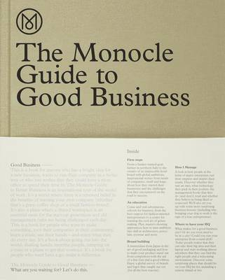 The Monocle Guide to Good Business by Monocle