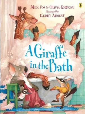 Giraffe In The Bath book