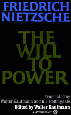 Will To Power book