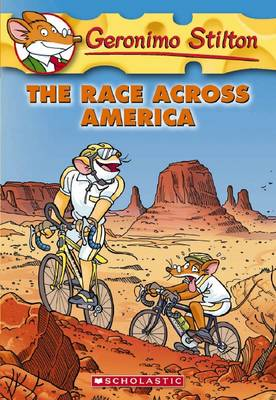 The Race Across America by Geronimo Stilton